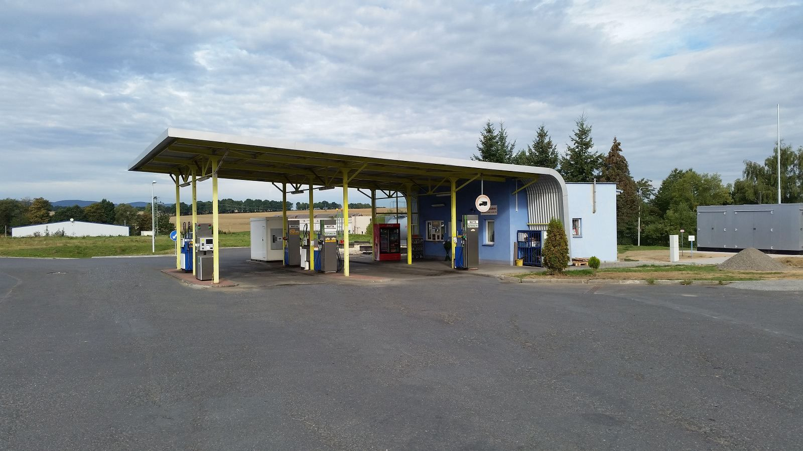 Photo of our gas station - Autodoprava Ing. Jaroslav Fronk