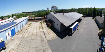 Photo of our warehouse - Autodoprava Ing. Jaroslav Fronk